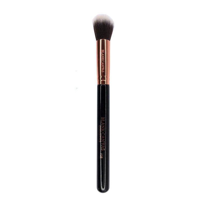 Load image into Gallery viewer, Blank Canvas F36 Dome Powder Brush Rose Gold/Black