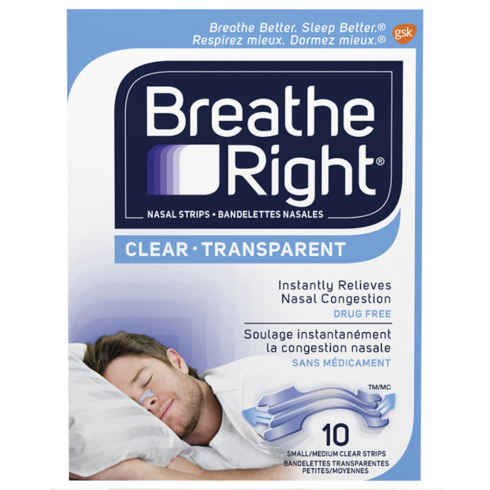 Breathe Right® Original Clear