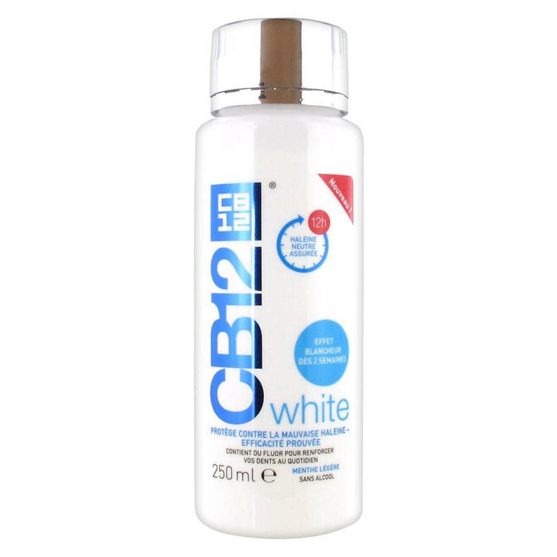 CB12 Mouthwash White