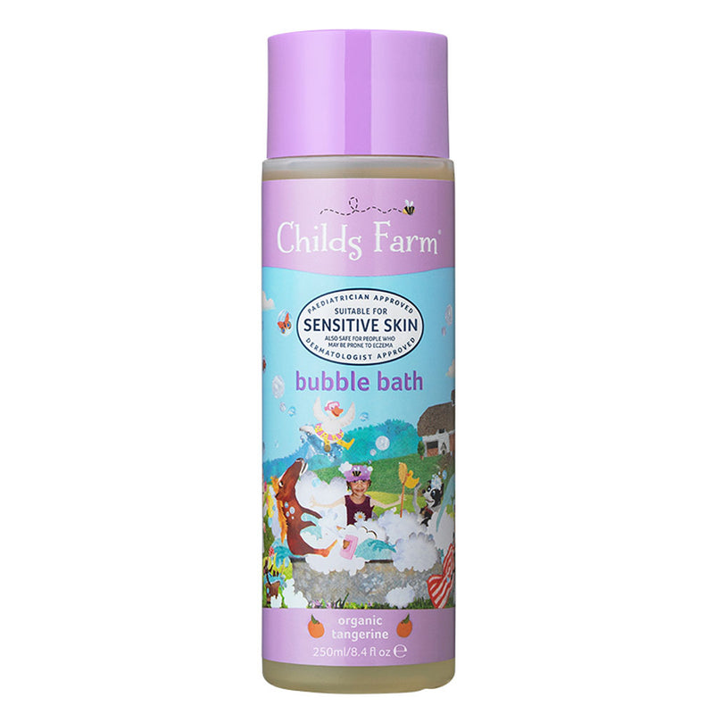 Childs Farm Bubble Bath, Organic Tangerine 250ml