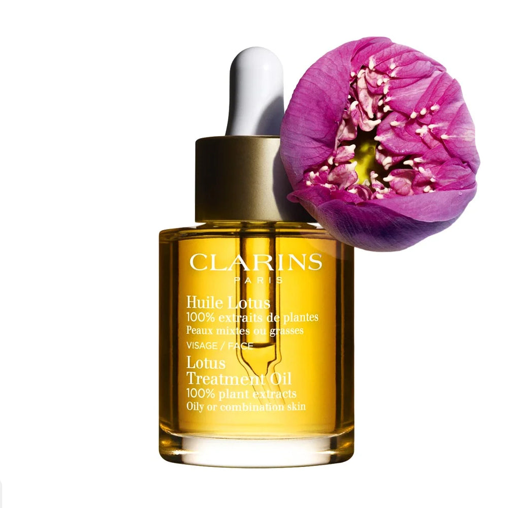 Load image into Gallery viewer, Clarins Lotus Face Treatment Oil