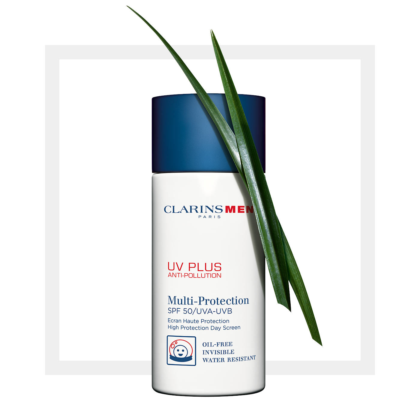 Load image into Gallery viewer, Clarins Men UV Plus SPF 50 UVA/UVB 50ml