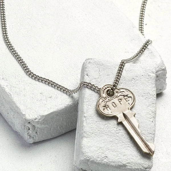 The Giving Keys Classic Key Necklace - Hope