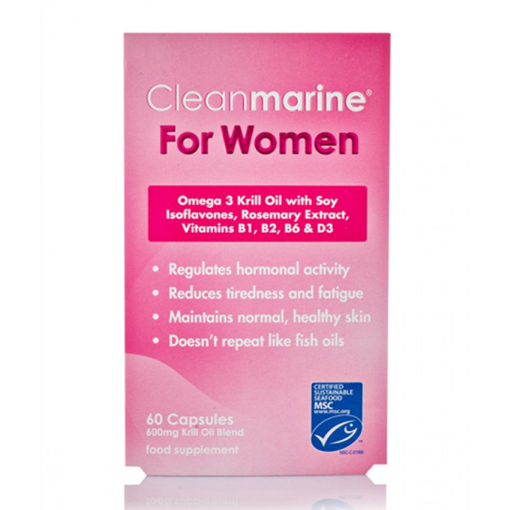 Load image into Gallery viewer, Cleanmarine For Women 600Mg Caps 60's