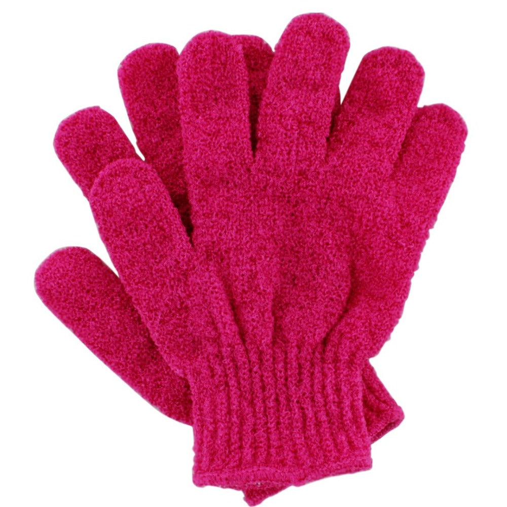 Load image into Gallery viewer, Cocoa Brown Exfoliating Gloves