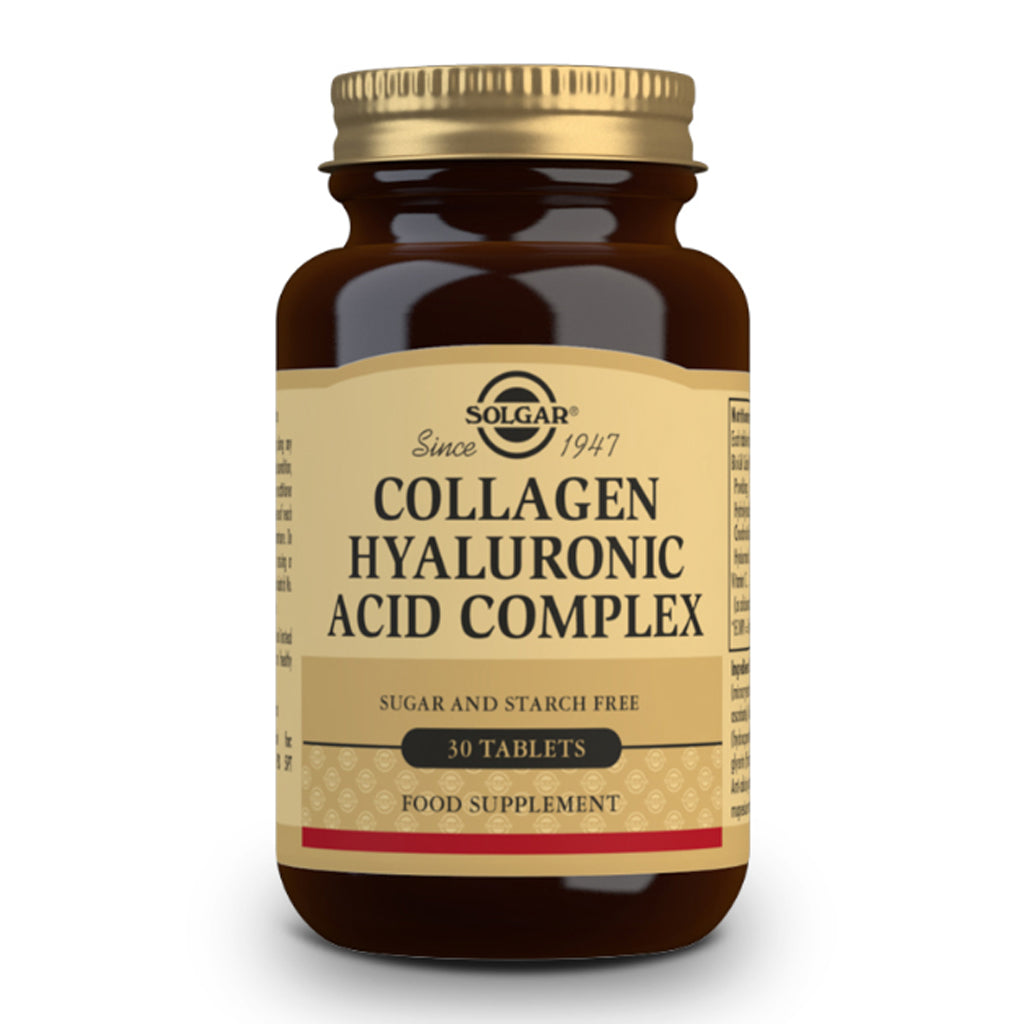 Load image into Gallery viewer, Solgar Collagen Hyaluronic Acid Complex Tablets 30's