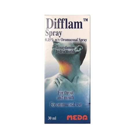 Difflam Throat Spray