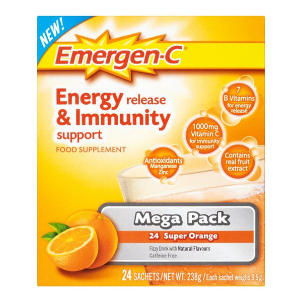 Emergen-C Energy Release and Immunity Support