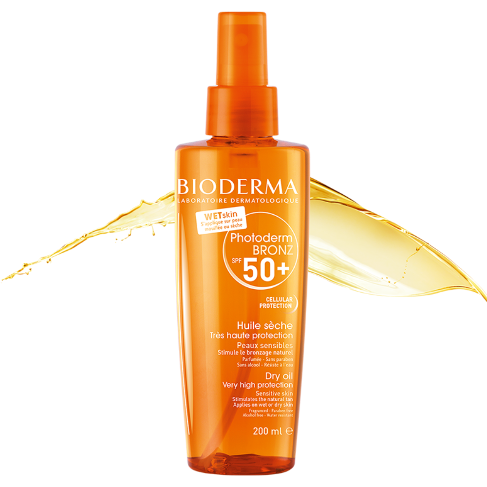 Load image into Gallery viewer, Bioderma Photoderm Bronz Invisible Sun Mist Spf50