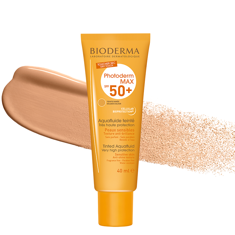 Load image into Gallery viewer, Bioderma Photoderm Max Tinted Aquafluide SPF50+ 40ml