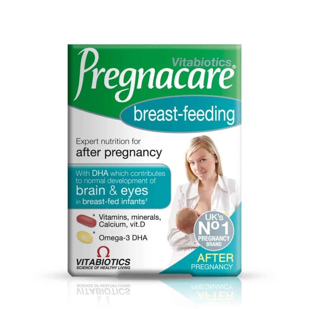 Load image into Gallery viewer, Vitabiotics Pregnacare Breast-Feeding Tablets