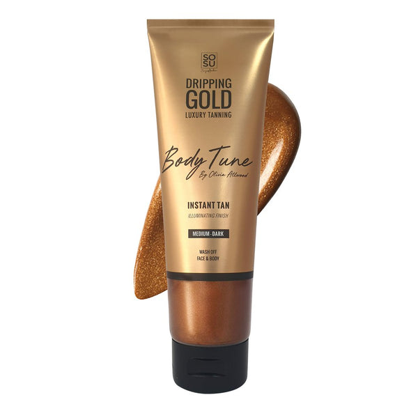 SOSU Dripping Gold Body Tune Instant Tan