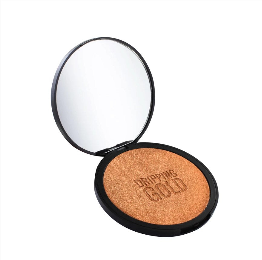 Load image into Gallery viewer, SOSU Dripping Gold Endless Summer Illuminating Bronzing Powder