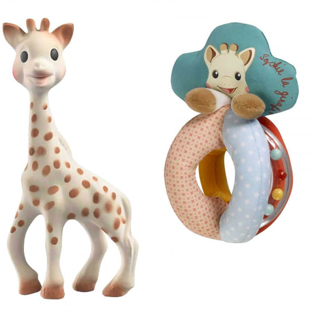 Load image into Gallery viewer, Sophie La Girafe Sophiesticated Early Learning Set