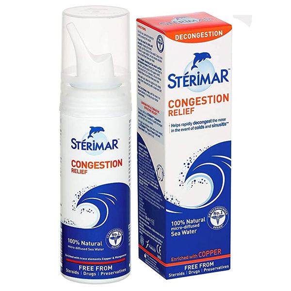 Sterimar Congestion Relief 100ml