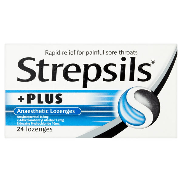 Strepsils Plus Anaesthetic Lozenges 24 Pack