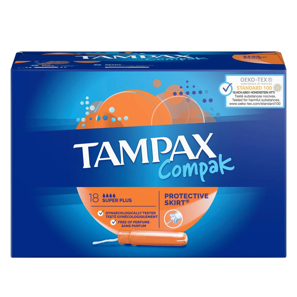 Load image into Gallery viewer, Tampax Compak Super Plus 18s