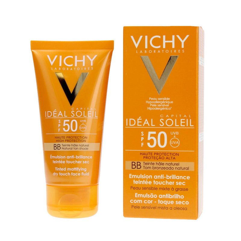 Vichy Ideal Soleil BB Tinted Mattifying Face Fluid SPF50