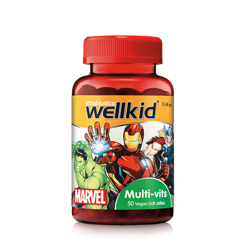 Wellkid Marvel Multi-vits 50's