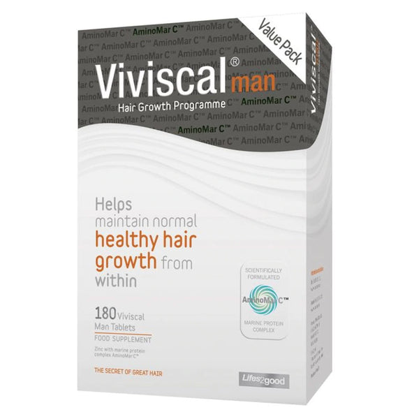 Viviscal Man Strength Value Pack 180s