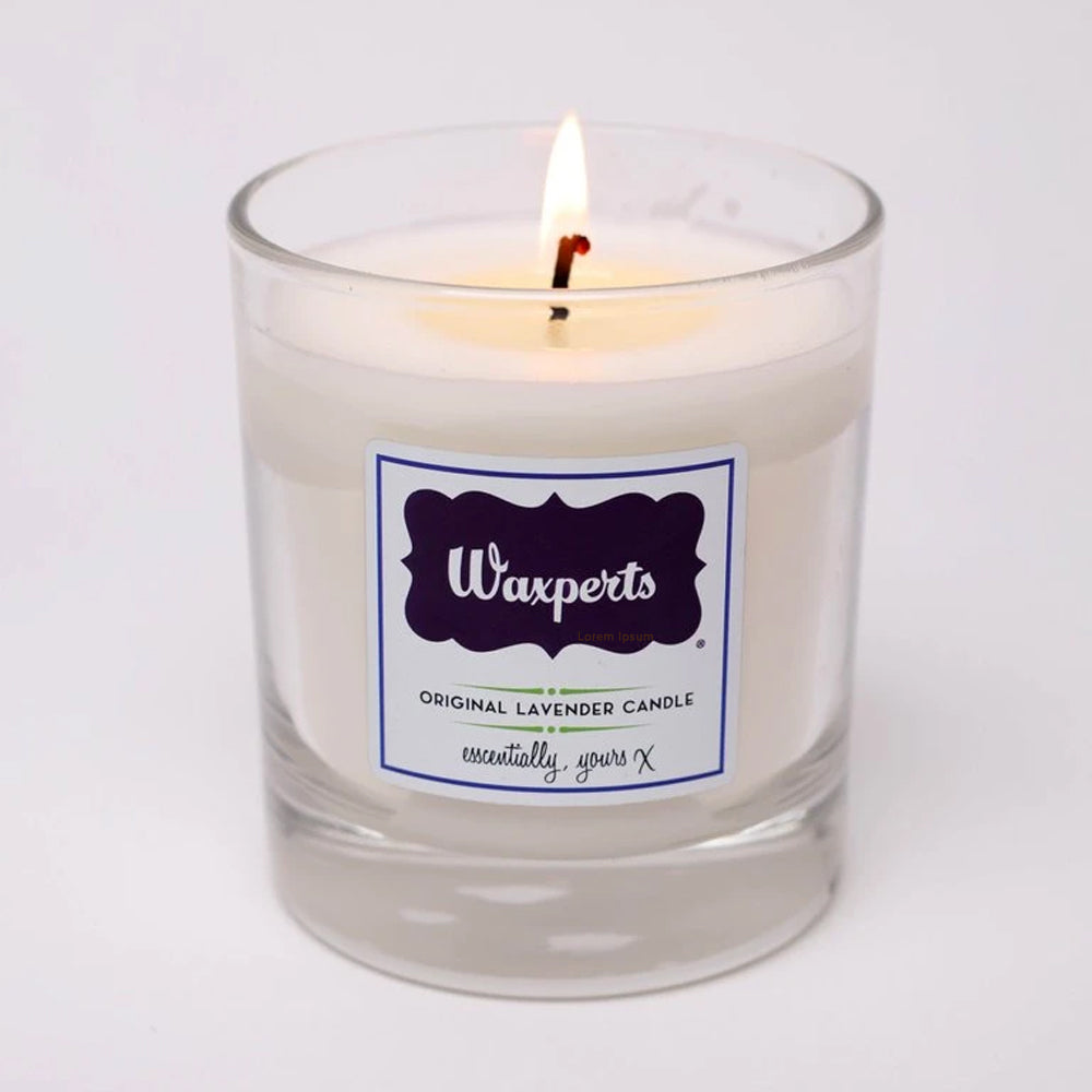 Load image into Gallery viewer, Waxperts Original Lavender Candle