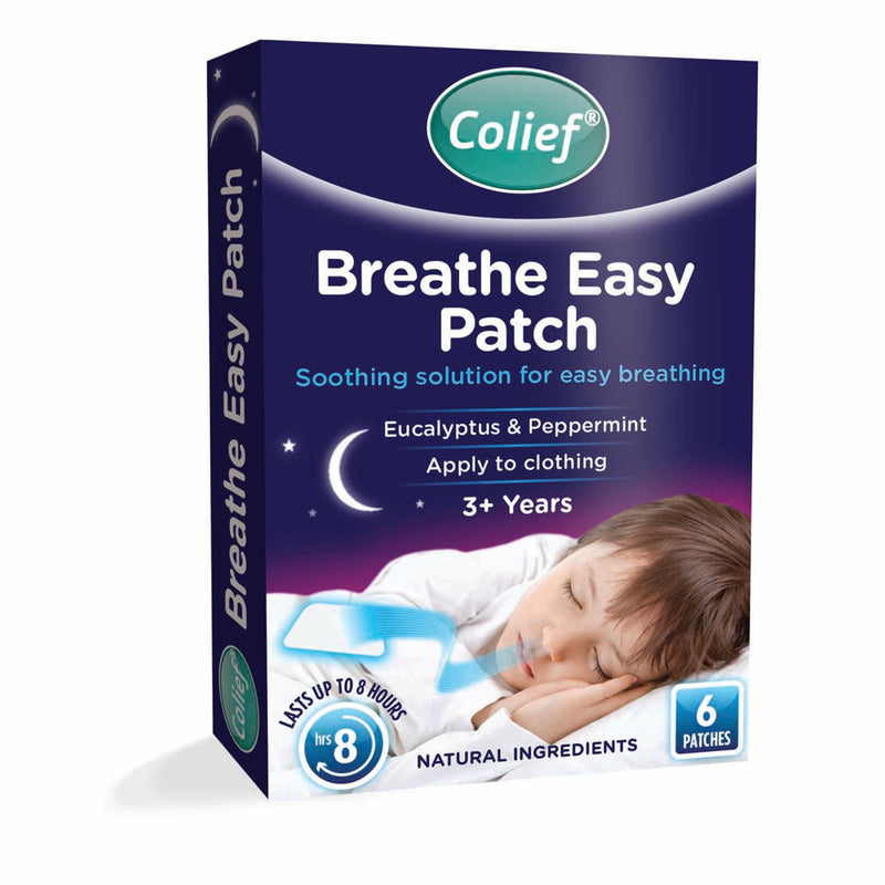 Colief Breathe Easy Patches 6's