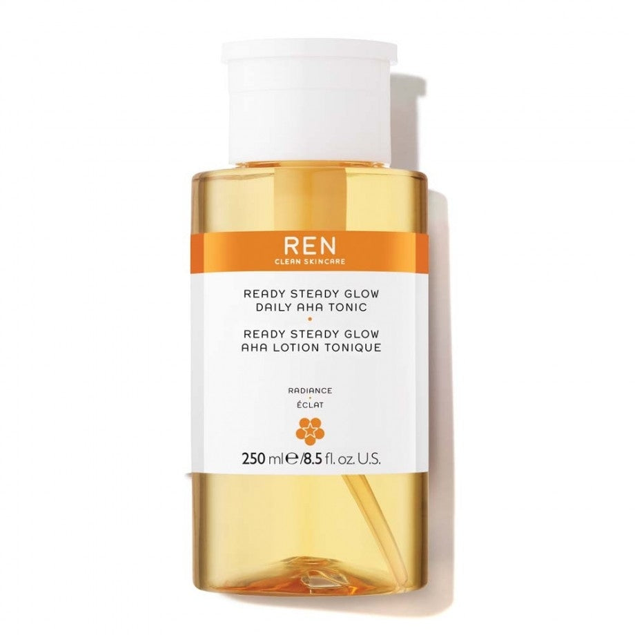 Load image into Gallery viewer, Ren Ready Steady Glow Daily AHA Tonic 250ml