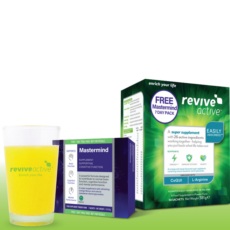 Revive Active Health Food Supplement with Free Mastermind 7's