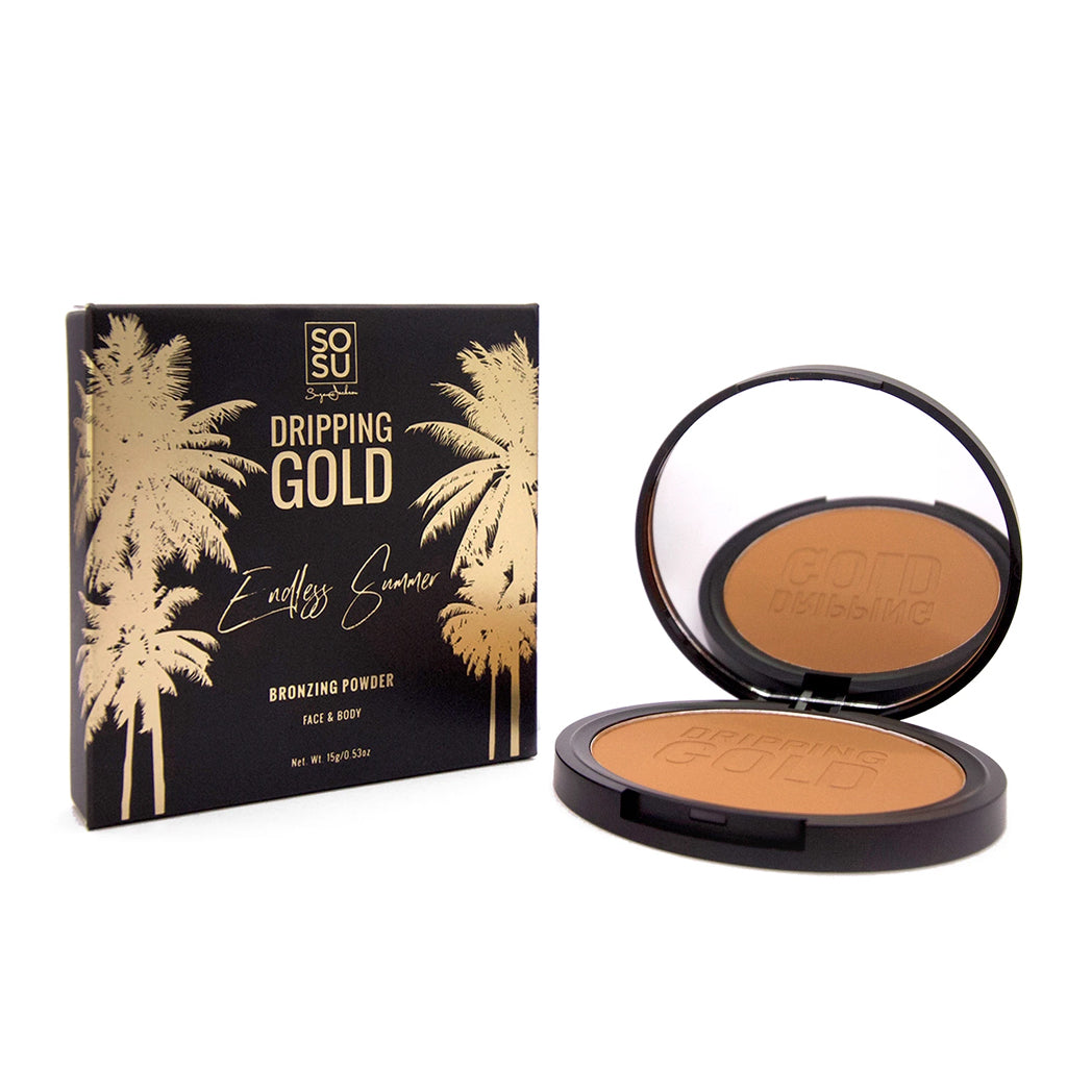 Load image into Gallery viewer, SOSU Dripping Gold Endless Summer Matte Bronzer