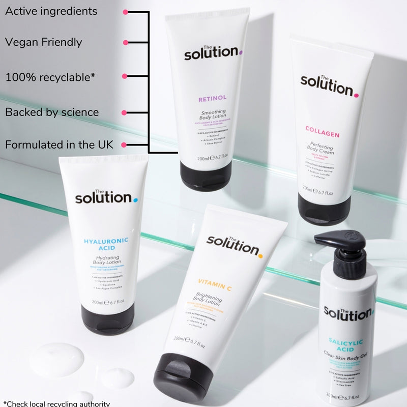 The Solution Hyaluronic Acid Hydrating Body Cream 200ml
