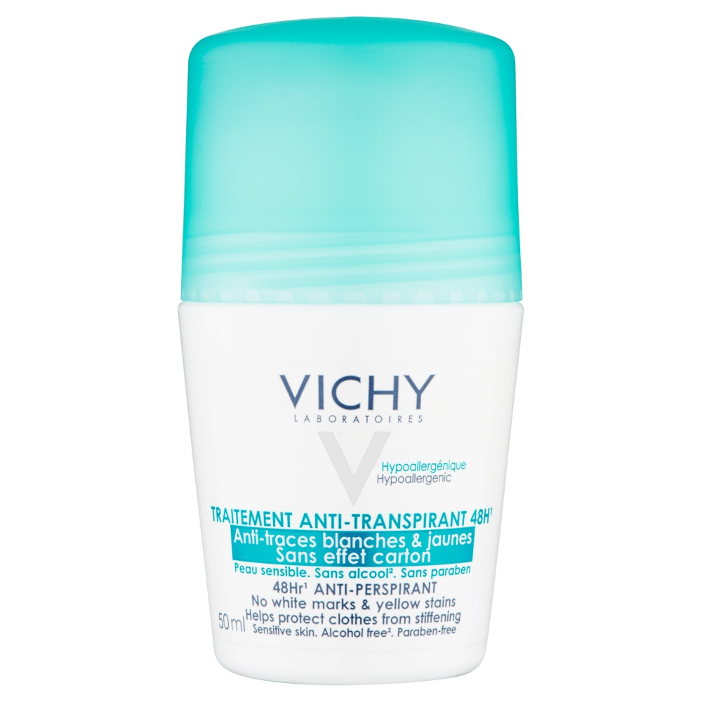 Load image into Gallery viewer, Vichy Deodorant No Marks Roll-On 50ml