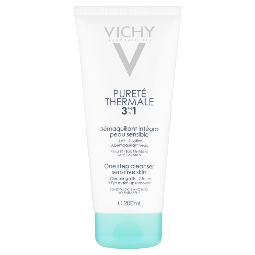 Load image into Gallery viewer, Vichy Purete Thermale 3 in 1 One Step Cleanser 200ml