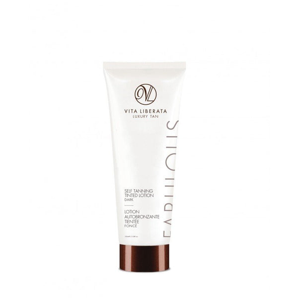 Vita Liberata Self Tanning Tinted Lotion-Dark 100ml