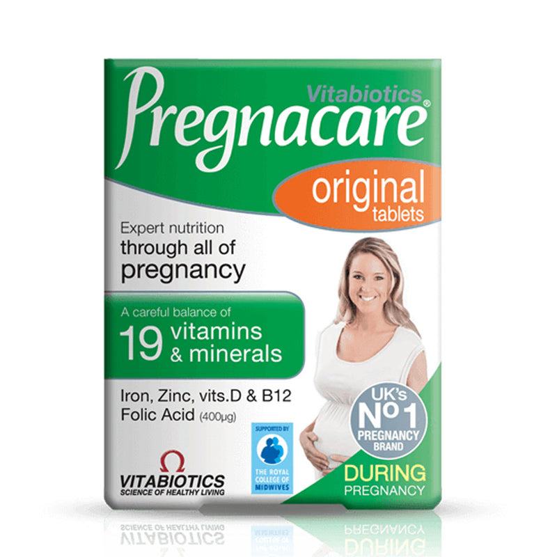 Vitabiotics Pregnacare® Original – 30 Tablets