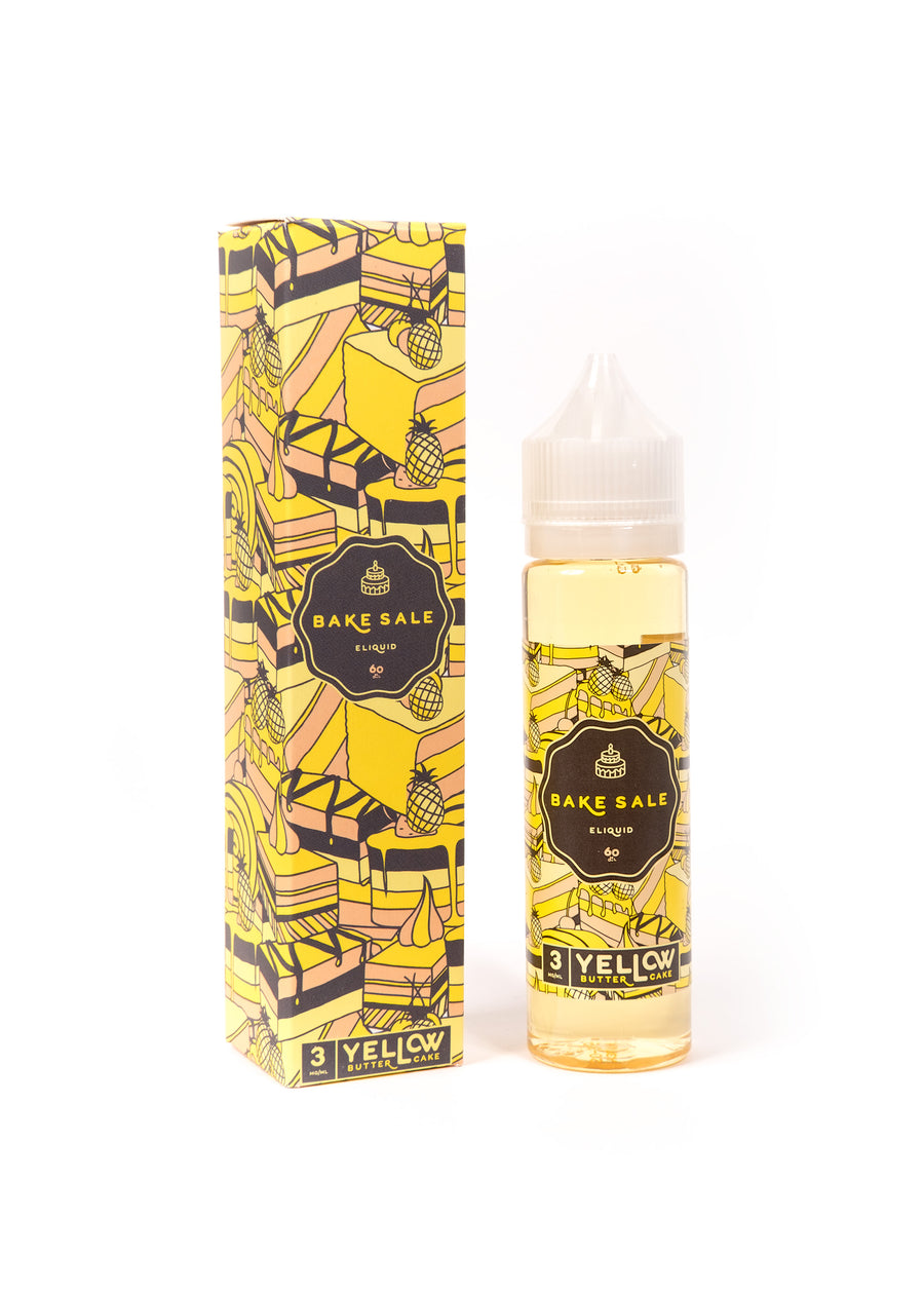 Charlie's Chalk Dust - Bake Sale - Yellow Butter cake - World of Vapors