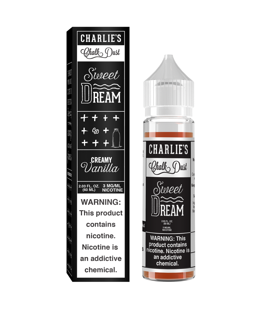 Charlie's Chalk Dust - Black&White - Sweet Dream - World of Vapors