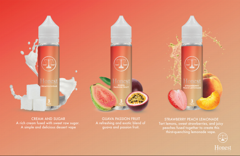 Honest Eliquid Bundle (ALL 3 FLAVORS)