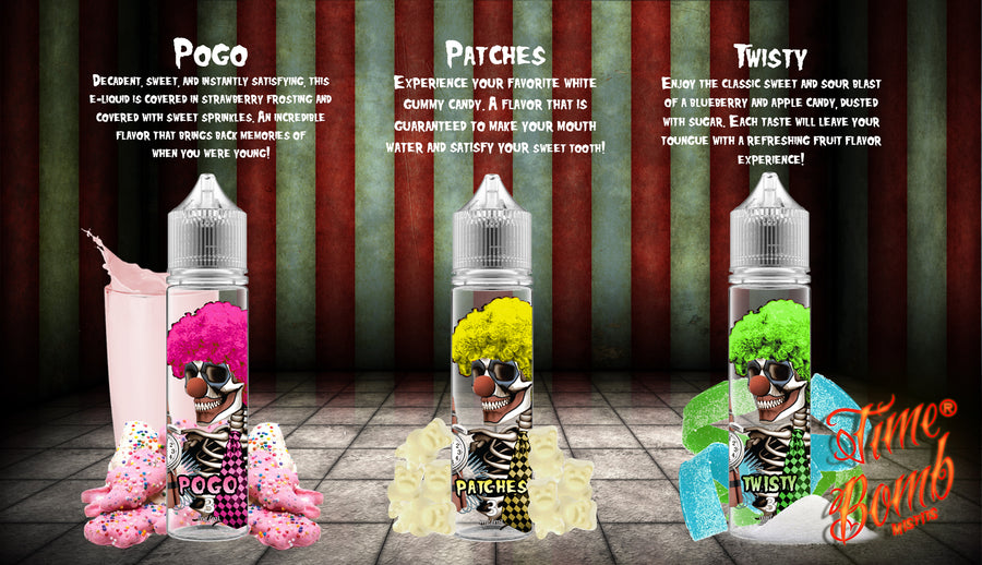 Time Bomb Misfits Bundle (ALL 3 FLAVORS)