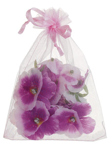 "5.5"" Pansy Petal in Bag (24 ea./Bag) Orchid (pack of 12)"