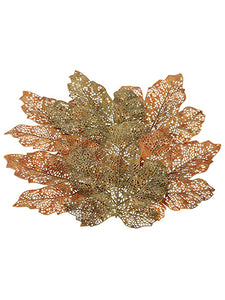 "12"" Maple Leaf (6 ea/bag)  Orange Moss (pack of 12)"