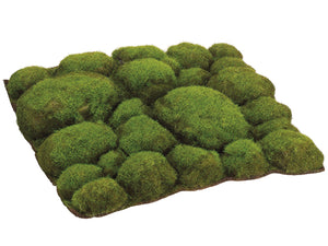 "12""Wx12""L Mood Moss Sheet  Green (pack of 6)"