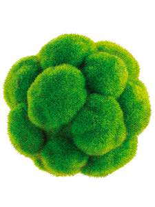 "5"" Moss Ball  Green (pack of 6)"