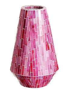 "16.25"" Mosaic Container  Pink (pack of 1)"