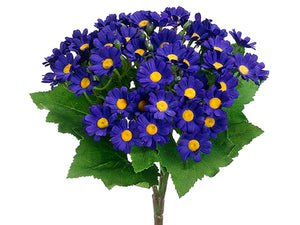 "10"" Mini Daisy Bush  Purple (pack of 12)"