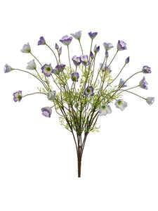 "23"" California Poppy Bush x7  Purple Cream (pack of 6)"