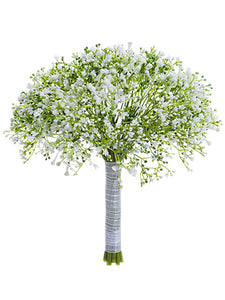 "10"" Gypsophila Bouquet  White (pack of 12)"