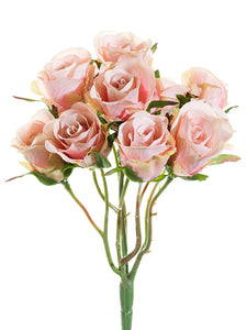 "8.5"" Rose Bouquet  Pink (pack of 12)"