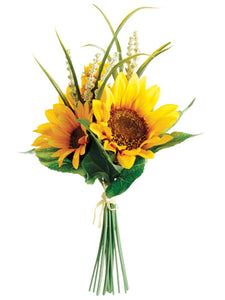 "11"" Sunflower Bouquet  Yellow (pack of 12)"