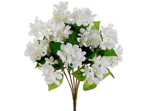 "15"" Stephanotis Bush x12  White (pack of 12)"