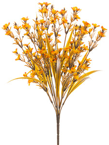 "17"" Waxflower Bush x9  Two Tone Flame (pack of 12)"